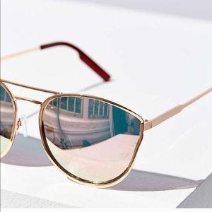 Quay Cherry Bomb Sunglasses    Rose Gold